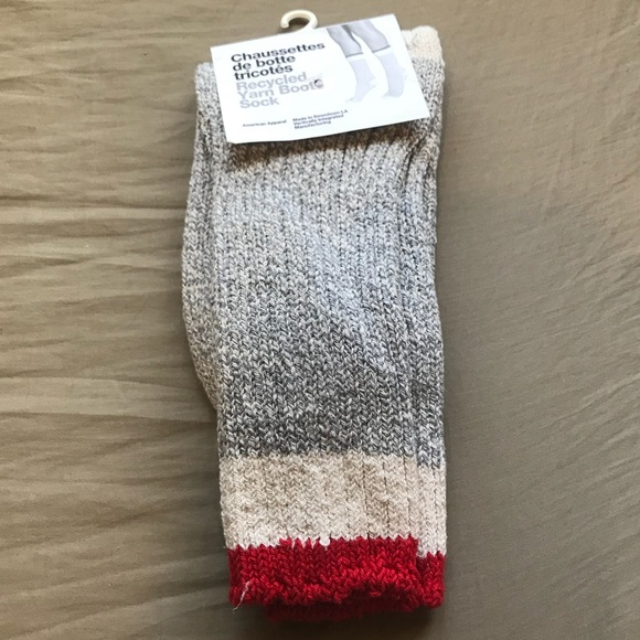American Apparel - Recycled Yarn Boot Sock NWT